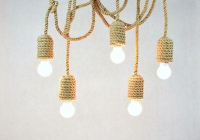 Pracownia StyLova - oświetlenie marynistyczne, styl nadmorski, lampa marynistyczna - Produkty, lampy skandynawskie, lina jutowa