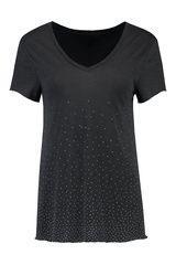 @nikkieplesseno #Nikkie - shirt met strass-steentjes #Trends #F16W17 #black #trendcolors #party #feest #bruiloft #verjaardag #feestdagen #kerst #oudopnieuw #NewYearsEve #Xmass #glitter #glamour