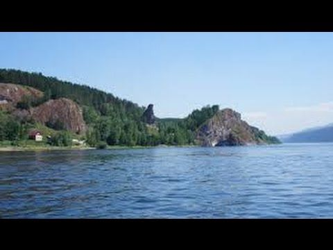 Большая вода. Енисей - YouTube