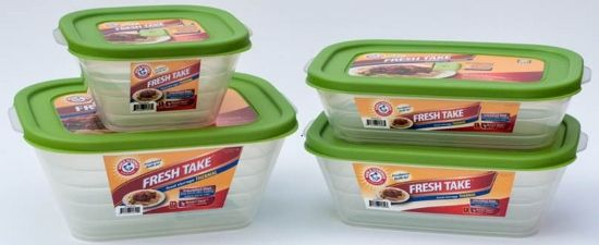 Ready for back to school? Grab an Arm & Hammer Food Storage Containers to keep lunch fresh!