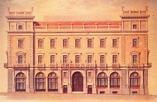 1874 ~ Μέγαρο Μελά. Αρχιτέκτων Ernst Moritz Theodor Ziller.