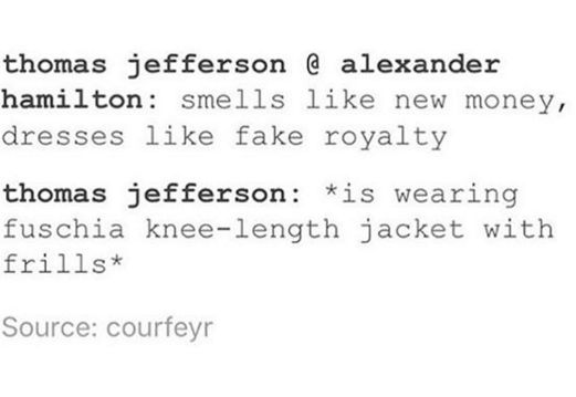 hamilton text post | Tumblr