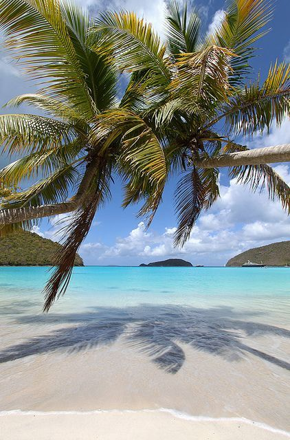 Maho Bay, St. John, US Virgin Islands #USVI #romanticgetaways