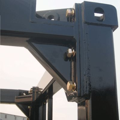 Iso Open Frame Equipment Container Reinforced Corner