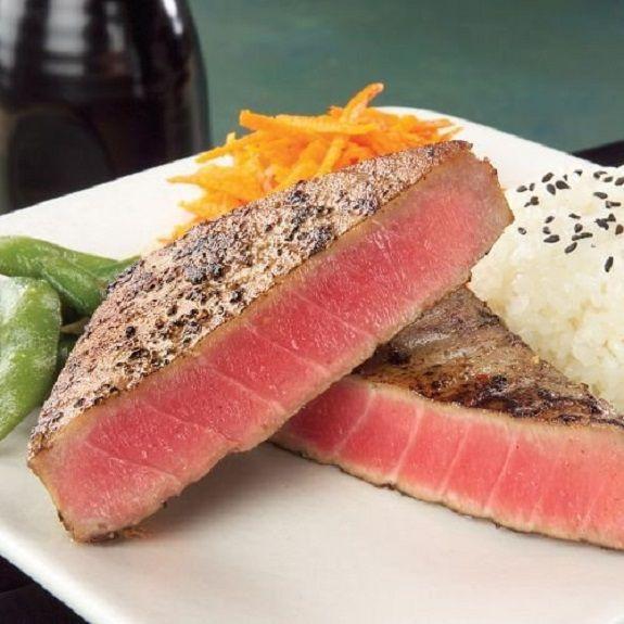 Best 25 baked tuna steaks ideas on pinterest tuna steak for Best tuna fish recipe