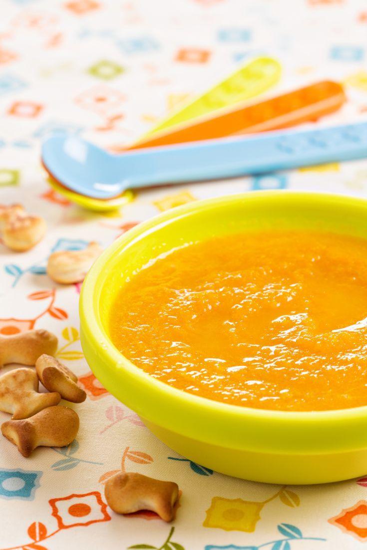 Zeleninový príkrm pre dojčatá s kuracinkou