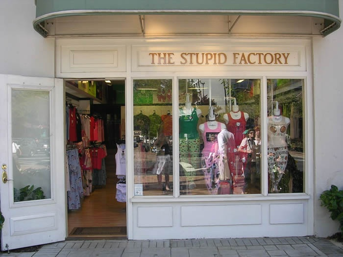 The Stupid Factory ... lame