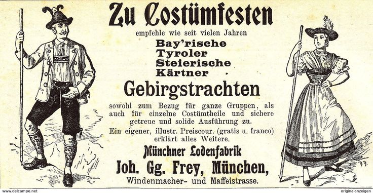 Werbung - Original-Werbung/ Anzeige 1901 - MÜNCHENER LODENFABRIK FREY - MÜNCHEN