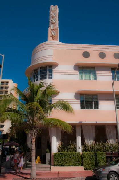 Art Deco Hotel, Miami Beach...