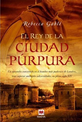 El rey de la ciudad púrpura, cubierta de Alejandro Colucci - PortadasLibros.com