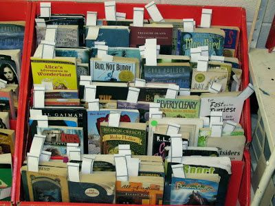 Mskcpotter: Classroom Library Checkout System
