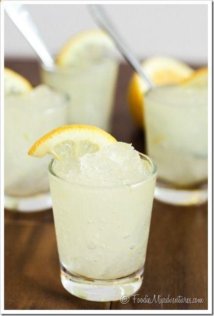 Pool Drink: Vodka Lemonade Slush