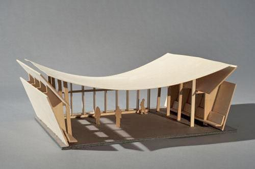 cardboard architecture model - Google Search