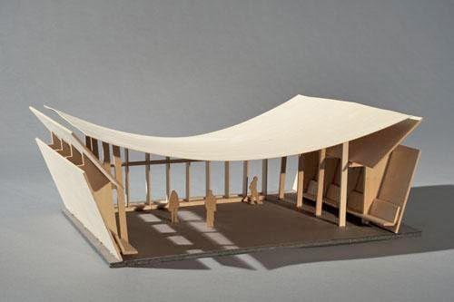 cardboard architecture model - Google Search