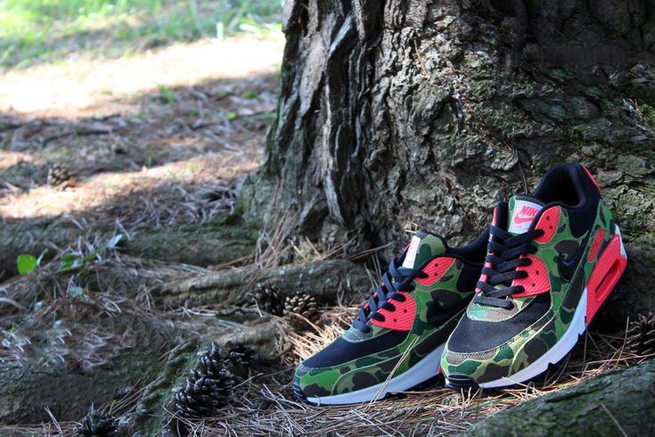 on sale 968bf 48df1 Nike Air Max 90 Premium Duck Infra Camo  atmos Exclusive