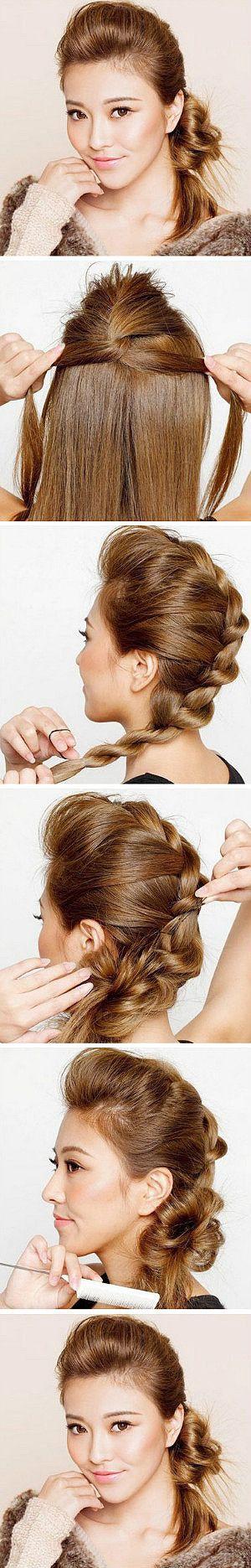braiding hair poof