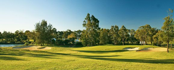 Steve Smyers Golf Course Architects | Cypress Lakes Golf & Country Club, Hunter Valley, Australia | Hole #8  | http://stevesmyers.com/ | #SmyersDesign  #GolfCourseDesign #GolfCourses #ssgca