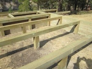 Pier and beam foundation construction pinterest for Raised pier foundation