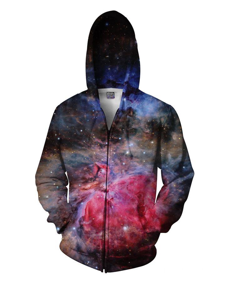 Heart of the Universe Zip-Up Hoodie