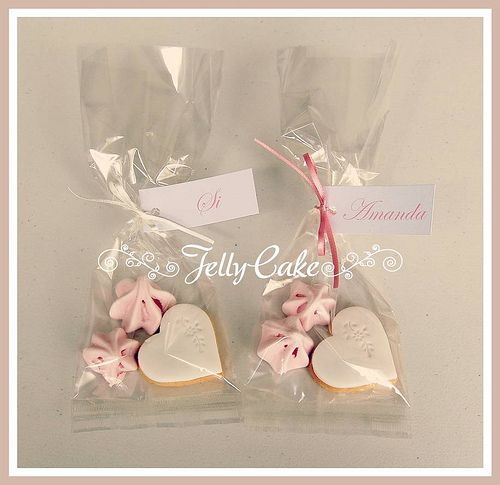 Vintage Pink Roses Wedding Favours - flickr
