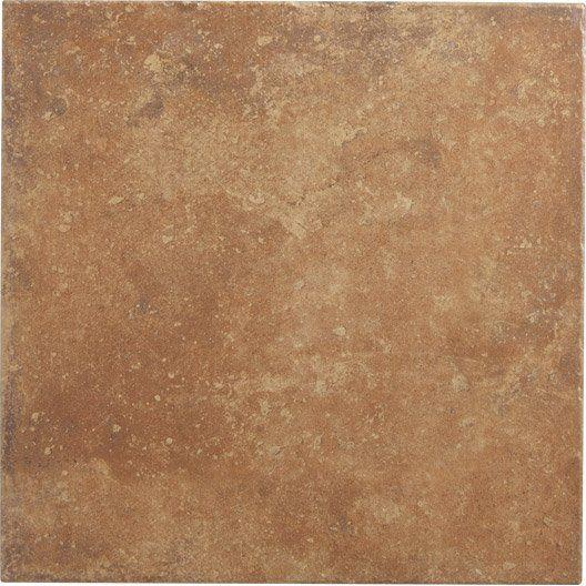 Carrelage int rieur perigueux artens en gr s ocre 45 x for Enduit carrelage mural