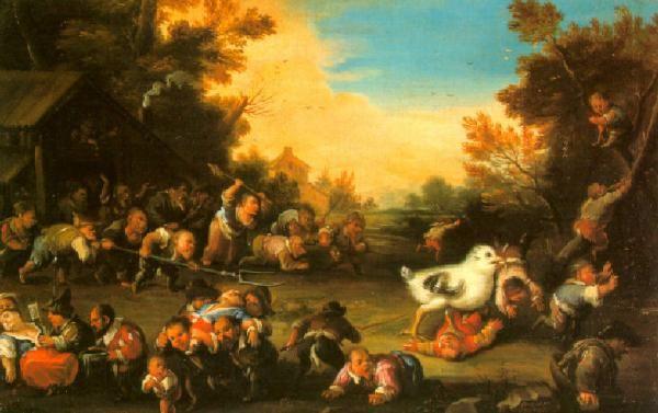 Un dipinto settecentesco di Faustino Bocchi, conservato nella Pinacoteca Tosio Martinengo, a Brescia