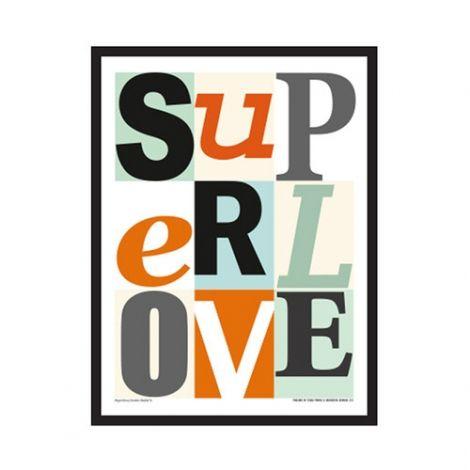 Superlove, Mini Plakat Superlove, Multi