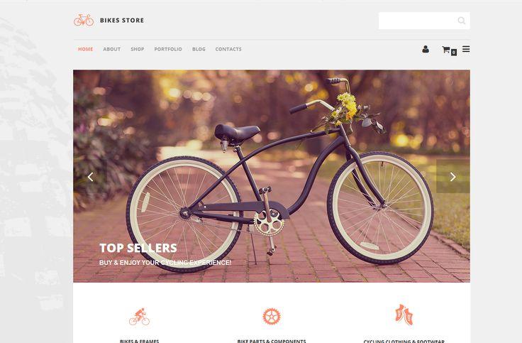 Online Shop für Fahrräder erstellen