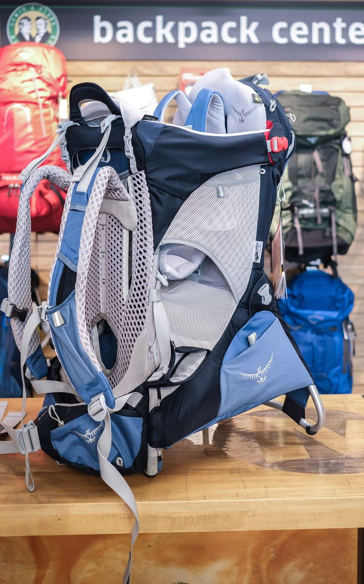 A great backpack for walking and hiking with a little one