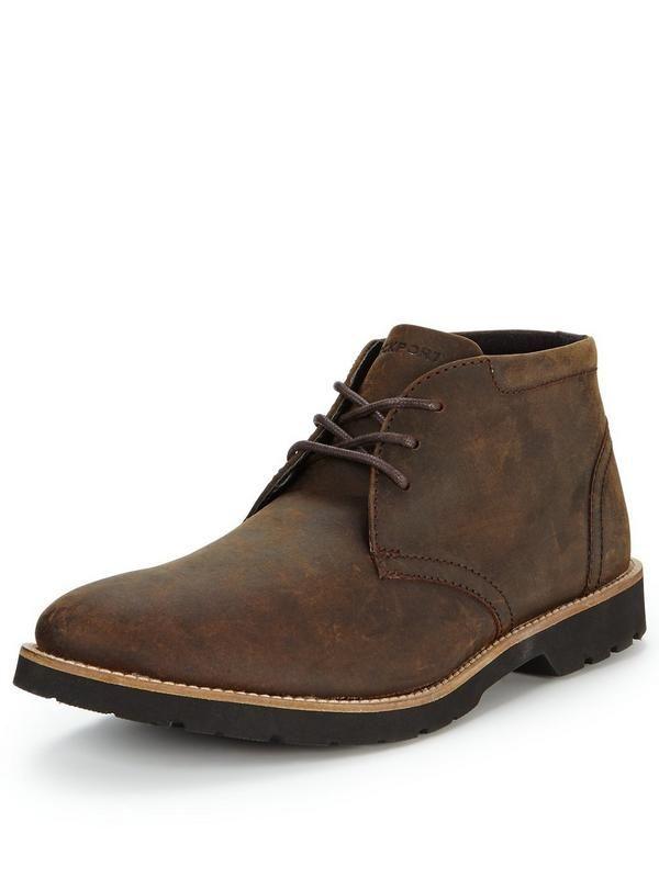 Dark brown Rockport chukka boots €115