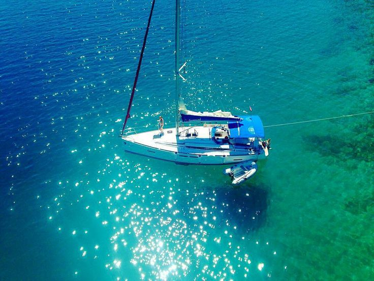 No day spent at #sea is a day to be forgotten  dreamy shot by our friends @sunsail_dubrovflotilla #dosomethingamazingwithsailing