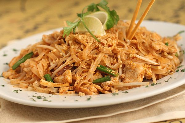pad thai...I love this. I make mine with Ramen noodles, without the spice pack, I use curry paste or powder instead...so good:)