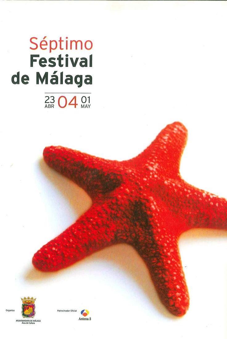 Cartel Festival Cine Malaga 2004