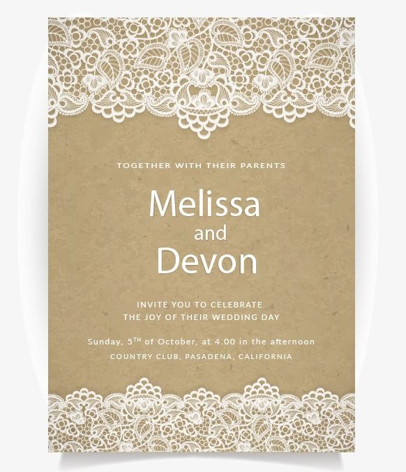 Wedding Invitations Wedding Invitation Card Template Png Transparent Clipart Image And Psd File For Free Download Wedding Invitation Card Template Kraft Wedding Invitations