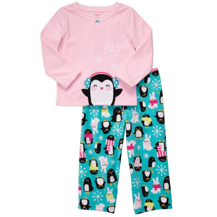 2-Piece Microfleece PJ's | Toddler Girl New Arrivals