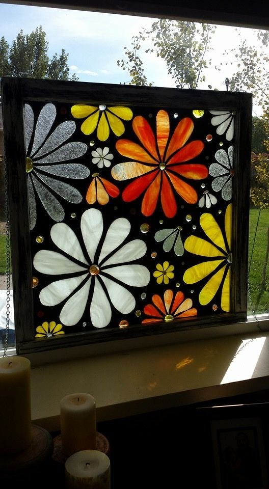 Mosaic stained glass window flowers https://m.facebook.com/hailee.lancaster?tsid=0.3386297080251135&source=typeahead#~!/profile.php?id=192198370887062&tsid=0.0121446051467623&source=typeahead