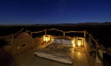 Imagine for just a moment... sleeping under the stars in the middle of the Namib Desert ! #Namibia #pureskyexperience