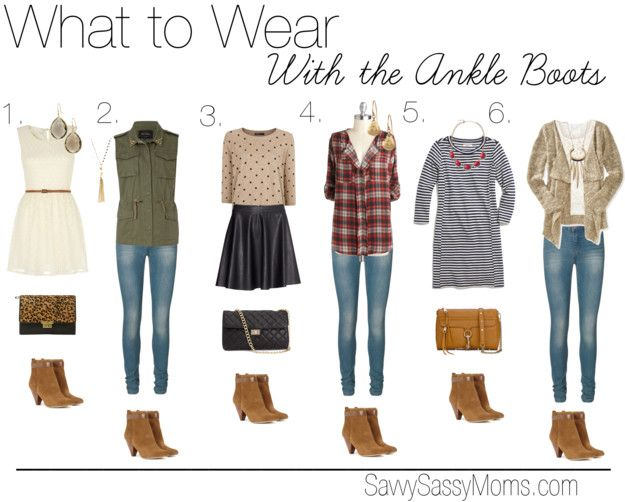 What to Wear with Ankle Boots... need to find the right jeans to wear with mine!