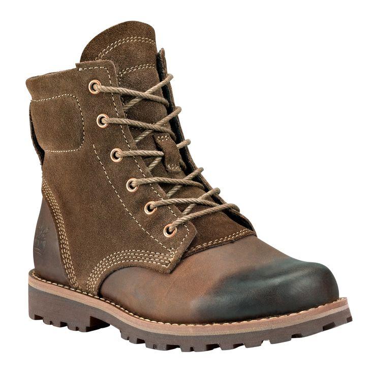 Kids' Earthkeepers® Asphalt Trail 6-Inch Plain Toe Boot #timberland  #kidsboots