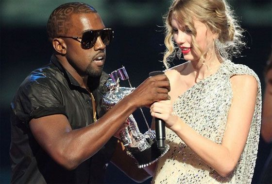 Kanye interrupts Taylor Swift. A Sherakhan moment?