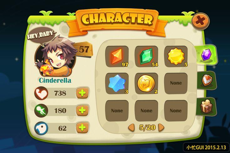Ekii Game Ui on Behance