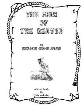 Sign of the Beaver is a classic early American novel. This novel study is full of comprehension questions, vocabulary activities, and enrichment activities designed to drop in the copier and go!! It is aligned with the CCSS standards.