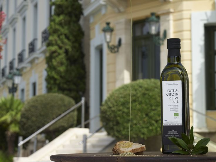 Gourmet olive oil! #ThermaeSylla