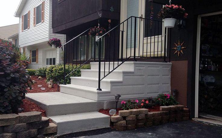 Precast Concrete Outside Steps