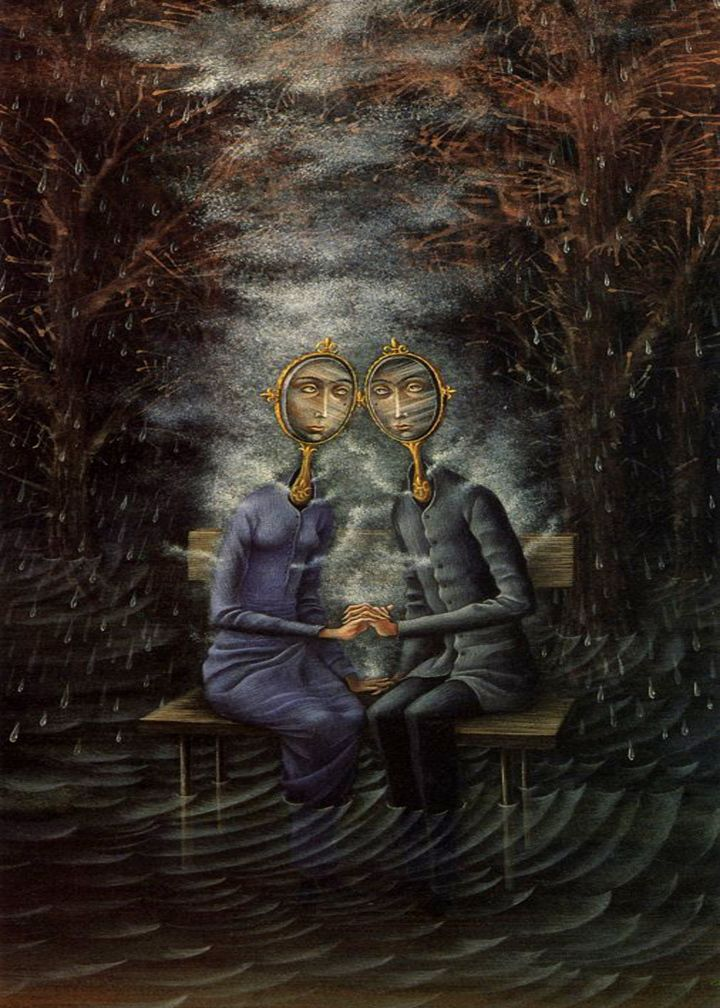 """The Lovers"" - Remedios Varo"