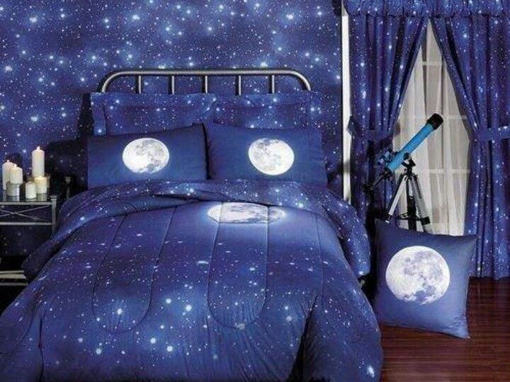 32 best Space theme Bedroom images on Pinterest | Space theme ...