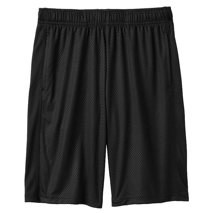 Boys 8-20 Tek Gear® DryTek Solid Shorts, Boy's, Size: Xl(18/20), Black