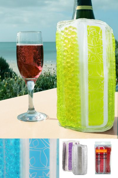 Great Idea Popsicooler Bottle Cooler Available in CLEAR only $16.95
