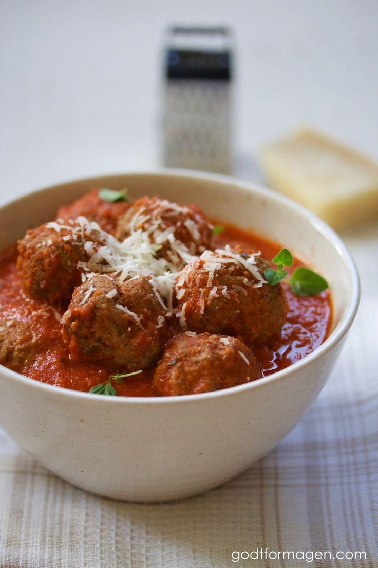 Spanske kjøttboller i spicy tomatsaus (lavFODMAP) - GODT FOR MAGEN