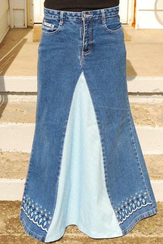 Pants Into Skirt 15